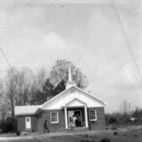 The completed Antioch Missionary Baptist Church