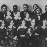 Preparatory Department Class, 1855