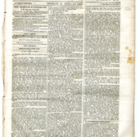 """The Higher and the Lower Law,"" <em>Oberlin Evangelist</em>, April 14, 1852"
