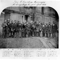 The Oberlin Rescuers at the Cuyahoga County Jail, April 1859