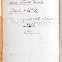Record of runaway slave John Price in the Trustee Records, Russia Township, Lorain County, 1858