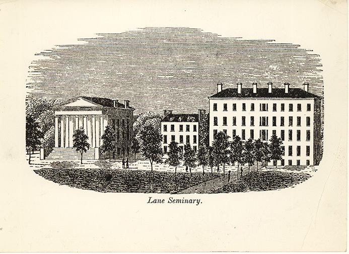 Lane Theological Seminary, Cincinnati